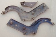 1968 GTO, LeMans Set Rear Bumper Brackets