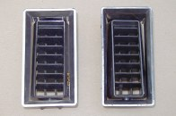 Pair 1970-72 GTO, LeMans A/C Dash Vents