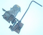 1970 LeMans, T-37 Hood Latch Assy with Rod & Bracket