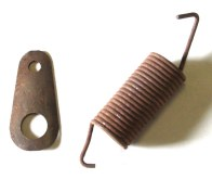 1964-72 GTO, LeMans Manual Brake Return Spring & Clip