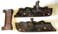 1970-72 GTO, LeMans Rear Bumper Bracket Set