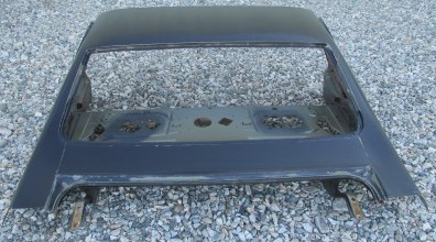 1970-72 LeMans, Tempest 4dr Sedan Upper Deck Panel Assy with Package Tray & Rear Window Section