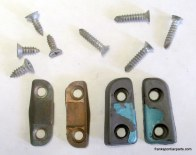 Set 1965-67 GTO LeMans Tempest  Conv Door Alignment Pieces